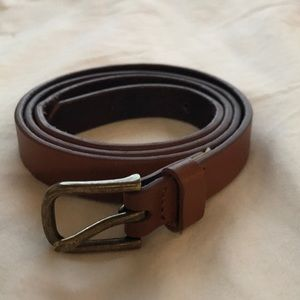 J.Crew factory brown faux leather belt
